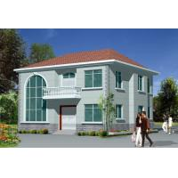 China Light  Steel Frame House / Prefabricated Houses For modern Villa on sale