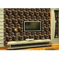 Mould-Proof Removable Living Room Wallpaper With Geometric Pattern Manufactures