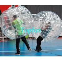 Football Bouncer Play Inflatable Body Bumper Ball , Competitive Games Body Bumper Roll Manufactures