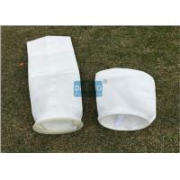 Super Long Life Liquid Filter Bags With Glazed Layer Securing Downstream Matrix