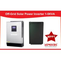 Wall Mounted Integrated Solar Power Inverters Off Grid Hybrid Inverter 1KVA ~ 5KVA Manufactures