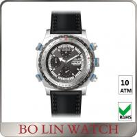 Army Filed Automatic Stainless Steel Military Watches With 3 Circles Date Display Manufactures