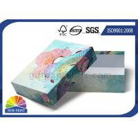Fancy Design Paper Gift Box CMYK Offset Printing Custom Rigid Gift Box OEM Manufactures