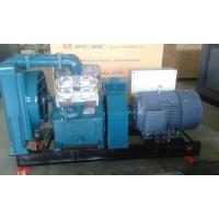 China Large silent cast iron piston type air compressor for mining VF 9/7  9m³  7 bar  95HP on sale