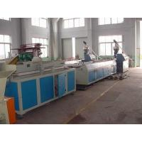Hollow / Solid Plastic Profile Extrusion Line For Settee / Couch Manufactures
