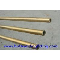 China 4'' STD Straight Copper Nickel Tube Distiller Or Seamless Pipe For Water Heater on sale