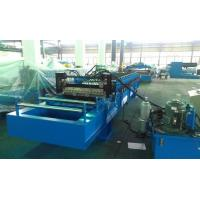 China High Speed 0 - 25m / min Corrugated Roll Forming Machine Fly Cutting No Stop wholesale