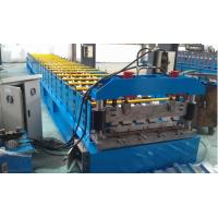 China IBR 686 Roof Profile Roll Forming Machine 0.3mm - 0.8mm Thickness wholesale