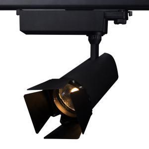 Patent design Glareless led track light 15-45w ugr<19 90ra CITIZEN COB LED Track Lights Manufactures