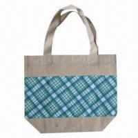 China Fashionable Jute Bag, Recycled/Eco-friendly, Used for Shopping Purposes wholesale