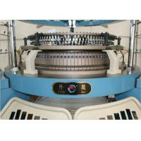 Four Tracks Single Jersey Circular Knitting Machine Weft Knitting High Accurate