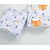 Babies 100% cotton muslin swaddle blanket Manufactures