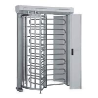 Pedestrian Access Security Crowd Control Full Height Turnstile With RFID Reader Manufactures