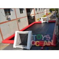 Commercial Inflatable Sports Arena Soccer Field For Football Game Playing 20m X 10M Manufactures