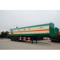 China transport liquid fuel tankers semi trailer for sale with tool box on sale
