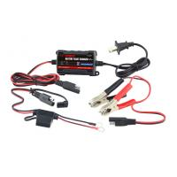 12V Lead Acid Car Battery Charger , 750mA car battery charger portable Manufactures