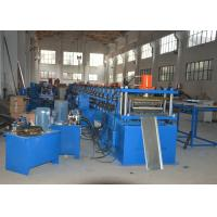 China Hydraulic Bending Storage Rack Shelving Making Machine with Cutting Cr12Mov on sale