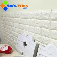 Quality 3D PE Foam Wallpaper Decor Natural Eco many bright colour available widely used in living room,wall, KTV etc for sale