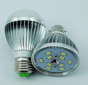 Solar LED Bulb, DC 12-24V, Aluminium Housing, 500LM Manufactures