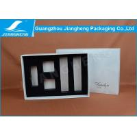 Glossy Lamination Cosmetic Packaging Boxes / Reusable Cardboard Box Packaging