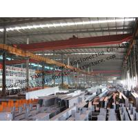 Prefabricated Industrial Steel Buildings , Single Span Steel Structural Buildings For Warehouse Manufactures