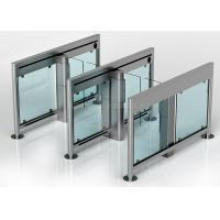Buy cheap Slim Swing Gates Bi Directional Automatic Turnstiles Optical Barrier from wholesalers