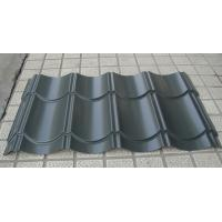 Archaistic Metal Roof Sheet / Cold Rolled Steel Roofing Gray Color Manufactures