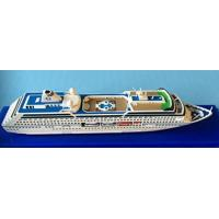 China Oceania Regatta Cruise Ship Toy Models Artworks Type With Complicated Mosaic wholesale