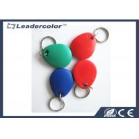 Red Printing EM4001 125Khz RFID Key Tag For Access Control System Manufactures