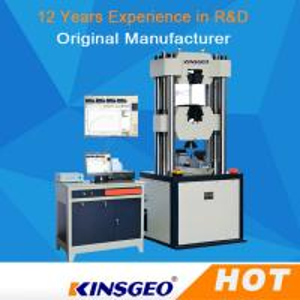China 80mm/min Electro Hydraulic Servo Function Universal Testing MachineS Computerized wholesale