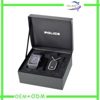 China Custom Luxury Watch Box Packaging grey cardboard , Gift Box For A Watch wholesale