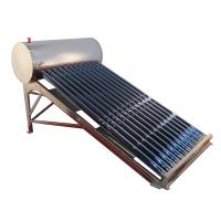 China Stainless Steel Non Pressurized Solar Water Heater Vacuum Tube 12 Tubes For Home on sale