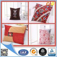 Custom Cotton Digital Printed Decorative Cushion Covers / Embroidered Cushion Case Manufactures