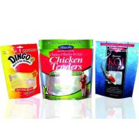 Glossy Finish Custom Printed Ziplock Bags For Dried Fruit Fashion Design Manufactures