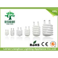 China 6500K CRI>60 Ra High Powder Factor CFL Glass Tube For Half Spiral Lamp wholesale