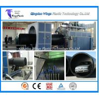 China Plastic Winding Pipe Production Line , HDPE Winding Pipe Making Machine wholesale