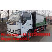 China Japanese brand ISUZU LHD 4*2 190hp 10m3 garbage compactor truck for sale, hot sale ISUZU refuse collection truck wholesale
