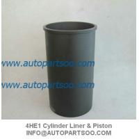 China Brand New 4HE1 Cylinder Liner Kits (Set of 4 Cylinder) ISUZU NPR 4.8L Diesel 1998-2004 wholesale