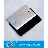 China Flat One-gang Aluminum Stamped Cover , Weatherproof Electrical Boxes on sale
