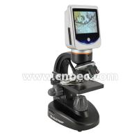 Usb 2.0 A33.5504 Led Light Digital Microscope With Lcd Screen , High Resolution Manufactures