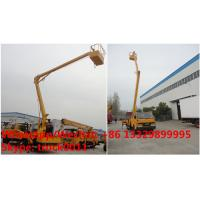 China 2018s China JMC LHD 12-16m aerial working platform truck for sale, Factory sale good price JMC overhead working truck wholesale