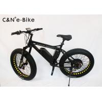 26x4.0 Inch Electric Fat Tire Cruiser Bicycles / Mountain Bike With Big Huge Tires Manufactures