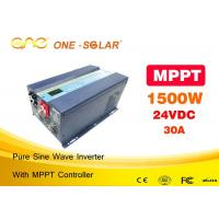 1500 Watt Pure Sine Inverter Off Grid 2kva With MPPT Solar Controller Manufactures