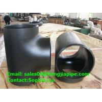 China GOST BS seamless pipe tee on sale