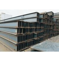 Custom Size Steel H beam Hot Rolled 3 mm - 30 mm Thickness Black Manufactures