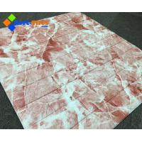 3D Wall panel PE FoamDecor Stone Marble colour Manufactures