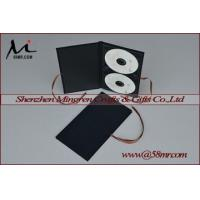 China Double Cotton Fabric Linen DVD CD Cover on sale