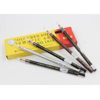 Paper Roll Light Brown Eyebrow Pencil Waterproof Soft Pull For Makeup Manufactures