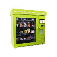 Quality 19 inch Interactive Touch Screen Electronic Vendor Machine for Beverage / Snacks / Cigarette for sale