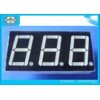 0.8 Inch 7 Segment LED Digital Display , Counter Display Three Digit For Household Eletronics Manufactures